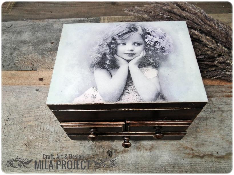 Kasetka na biżuterię Shades of Lilac 1
