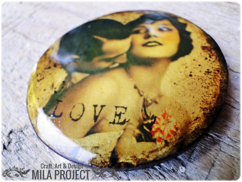 Magnes na lodówkę Love 1