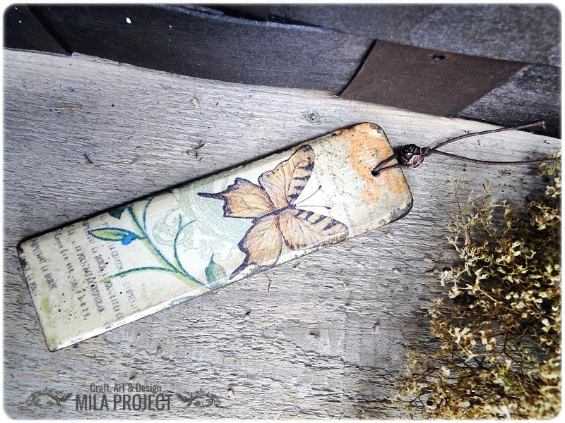 Zakładka Vintage Butterfly 1