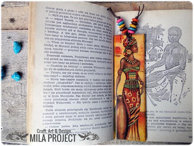 Zakładka do książki Afrykanki 1
