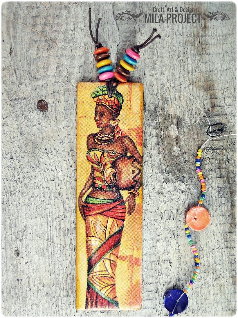Zakładka do książki Afrykanki 2