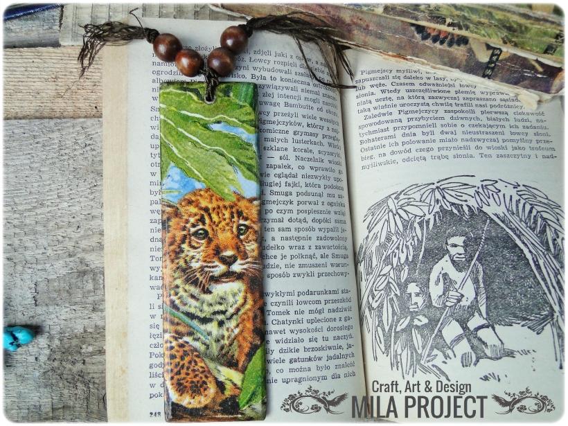 Zakładka do książki Tygrysek 1