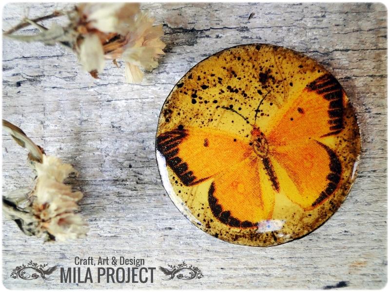 magnesy na lodówkę Motyle 2