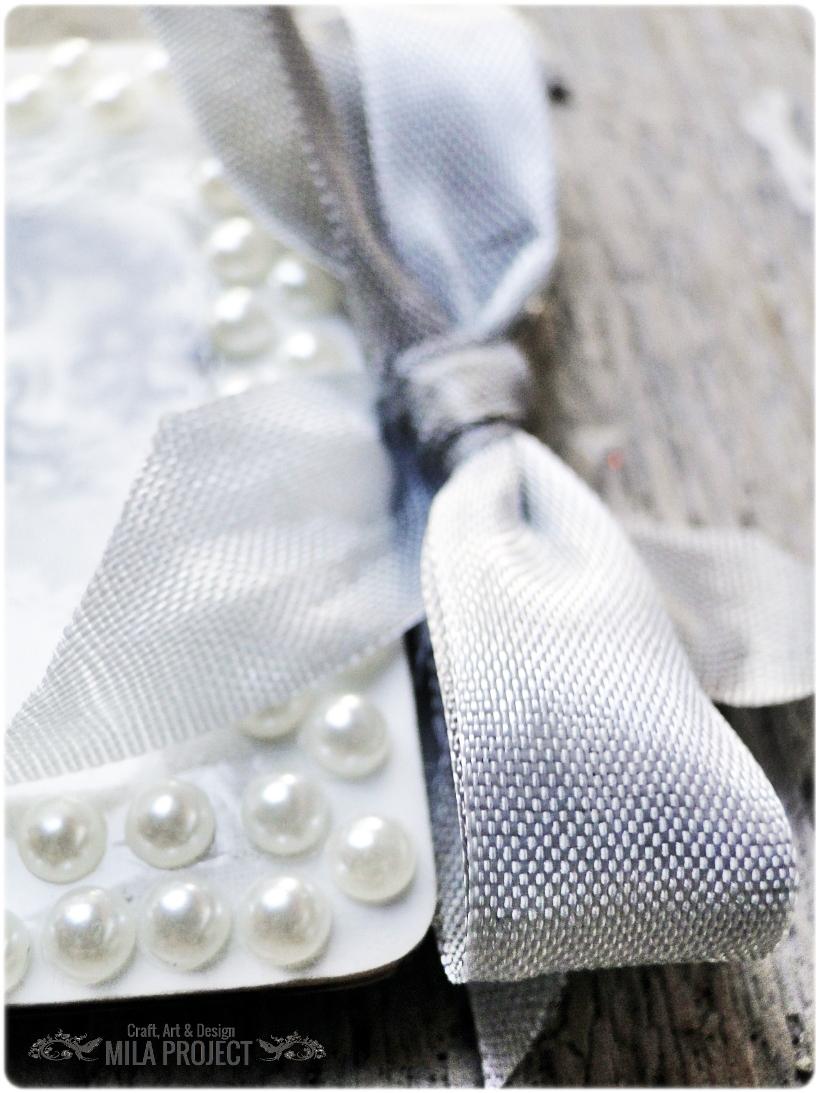 Magnesik w pudełku Aniołki w perłach 3