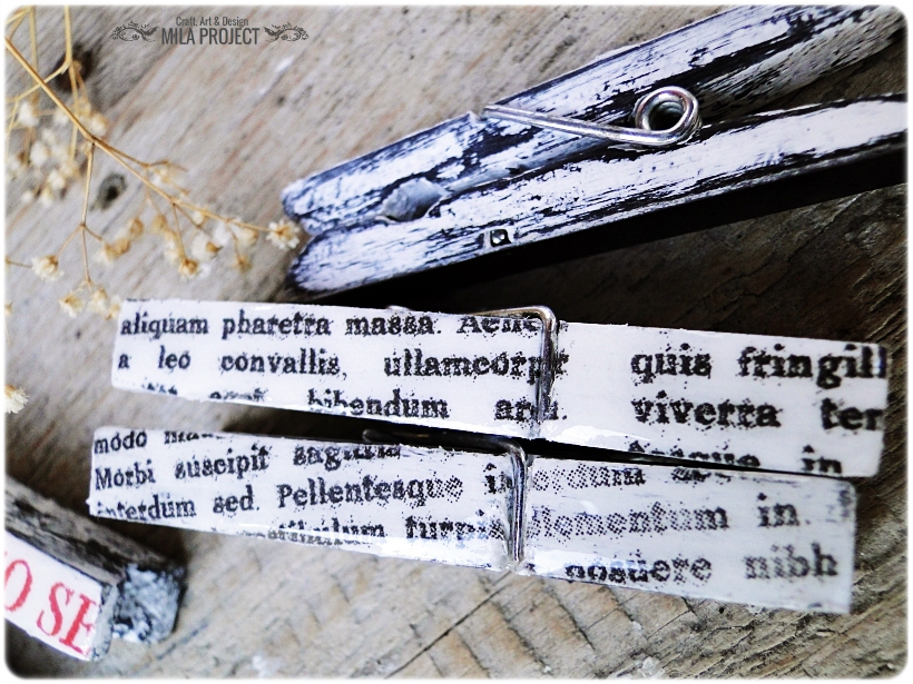Magnesy - klamerki Newspaper 2