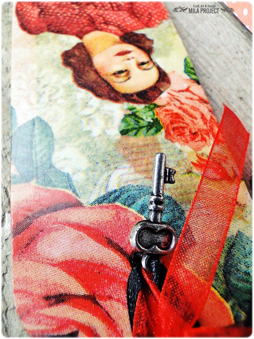 Zakładka do książki Red Roses 3