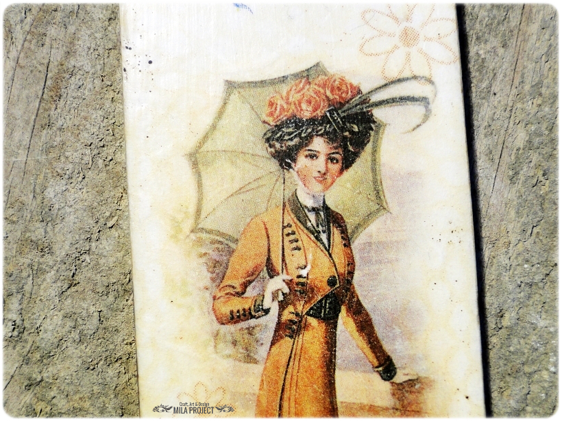 Zakładka do ksiązki Lady with Umbrella-Summertime 4