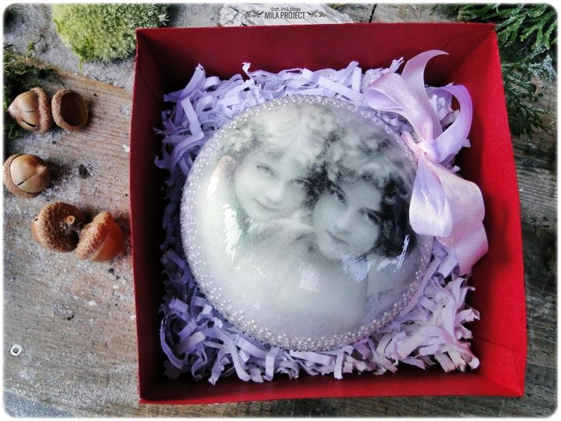 Bombka w pudełku Anioły 5