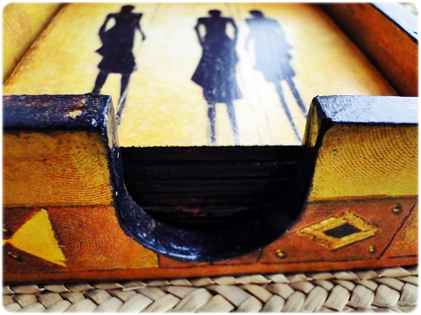 Podkładki w pudełku Życie w Afryce 6