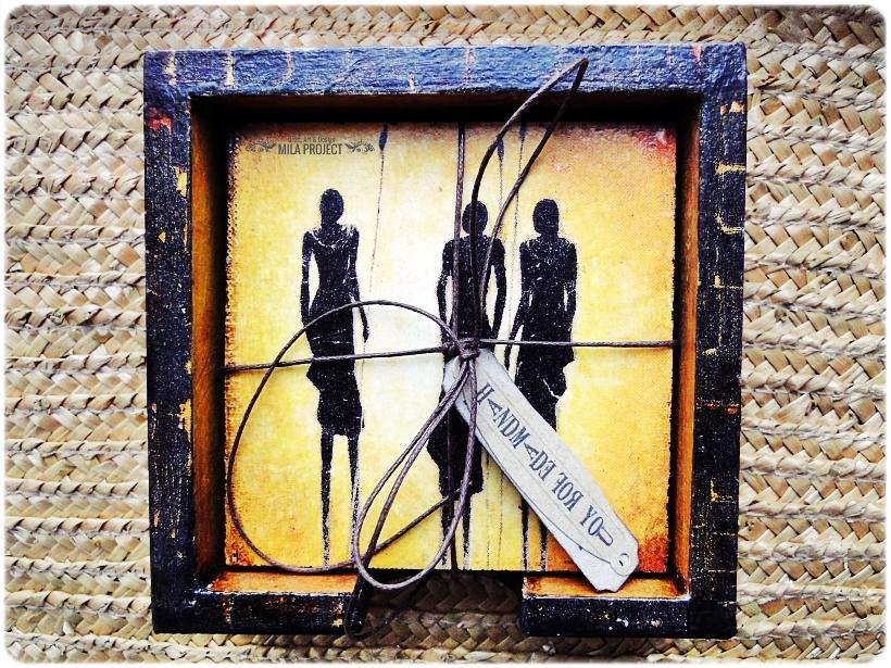 Podkładki w pudełku Życie w Afryce 7