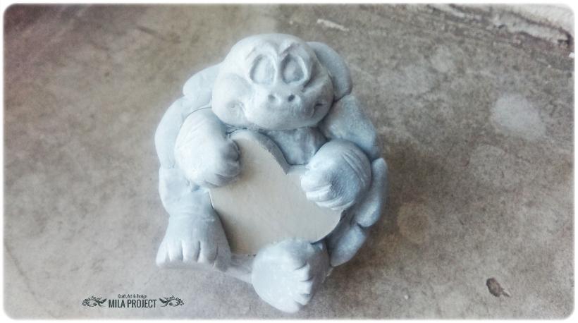 Model Żółwik z serduszkiem 1