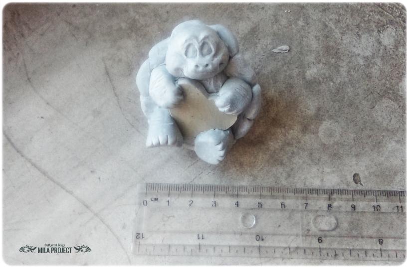 Model Żółwik z serduszkiem 3