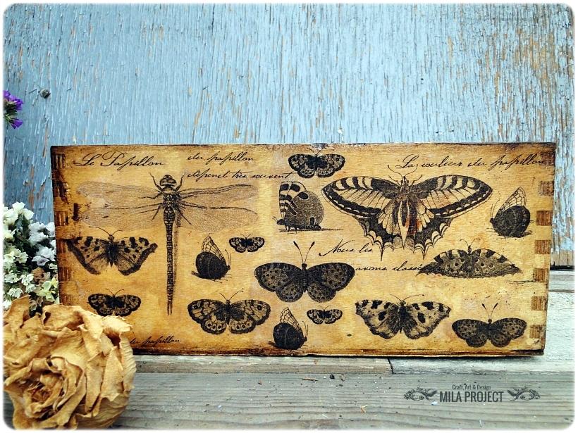 Przybornik na biurko Papillon 1
