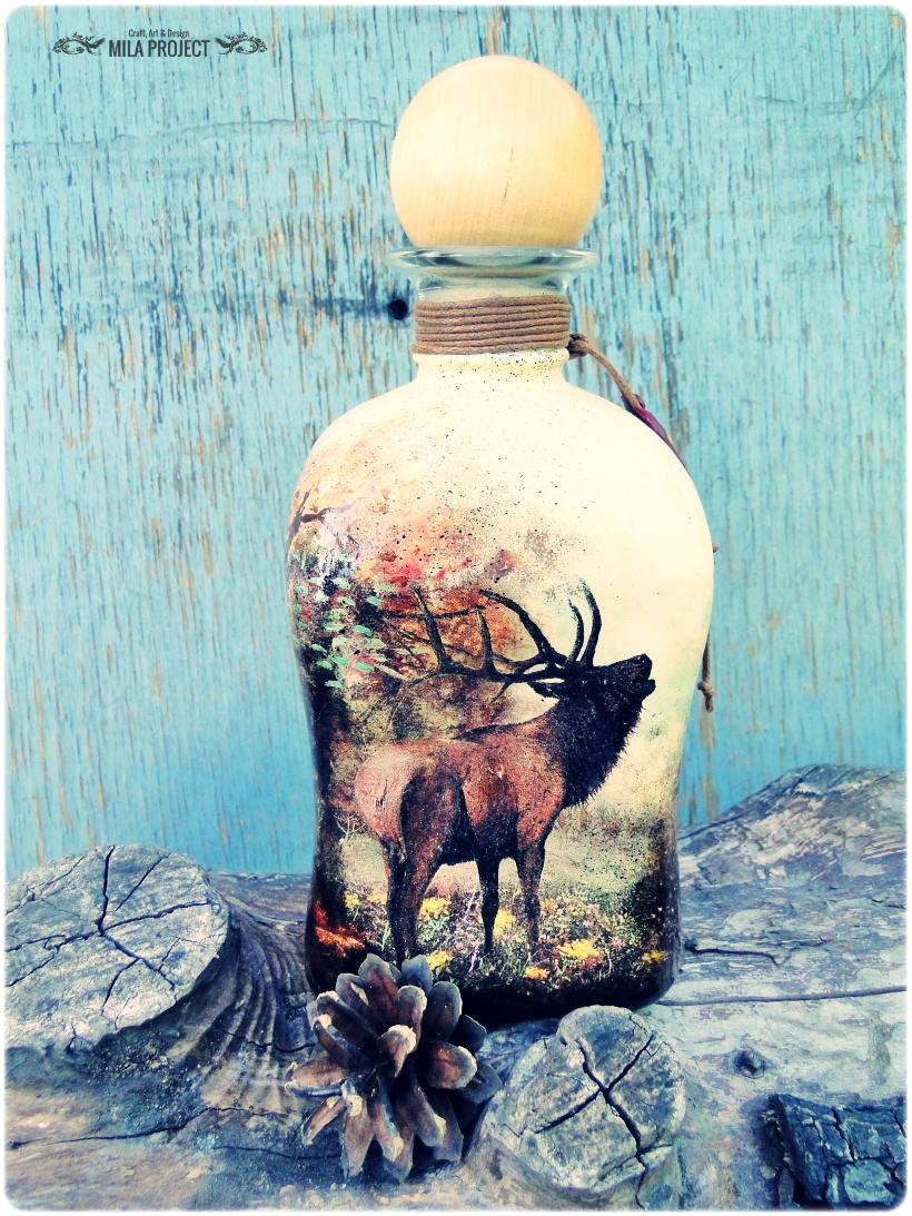 Butelka ozdobna Rykowisko 1