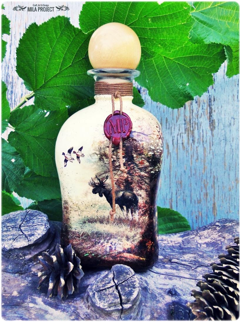 Butelka ozdobna Rykowisko 2
