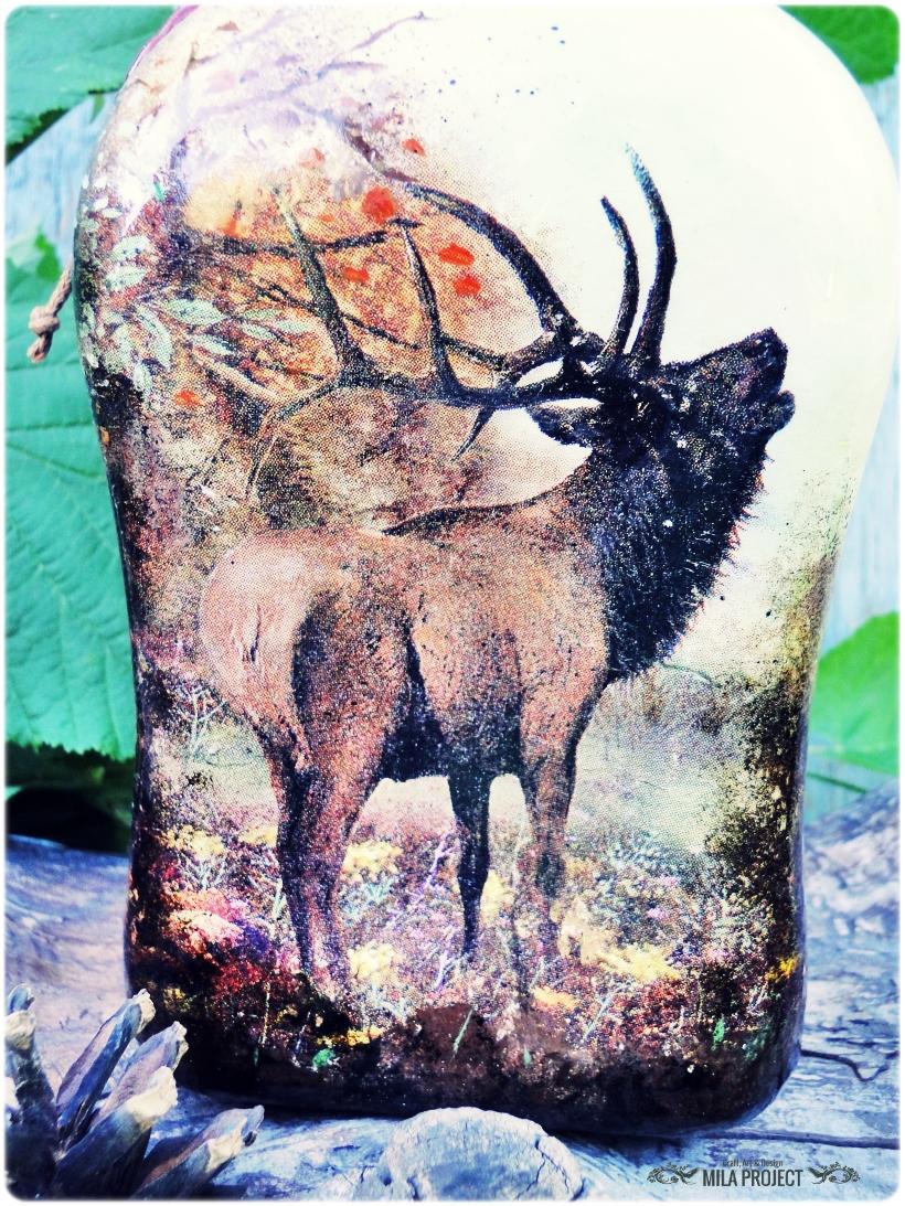 Butelka ozdobna Rykowisko 4