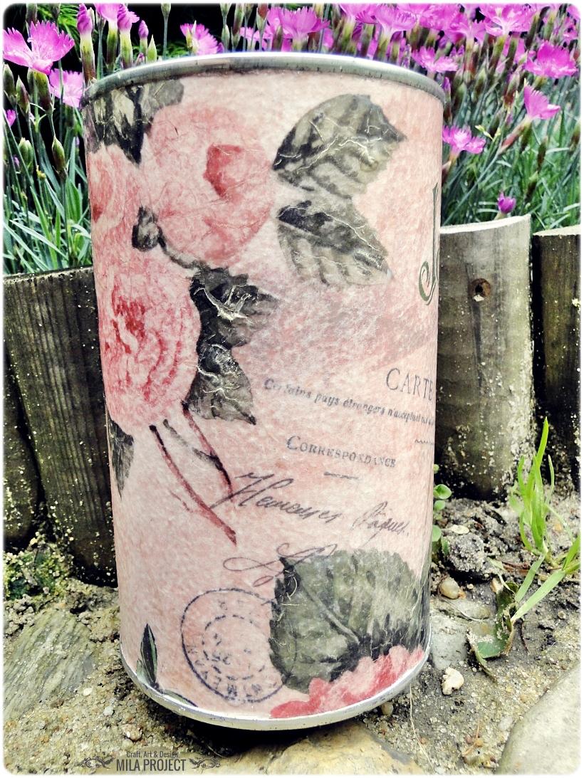 Puszka Gardin de fleurs 2