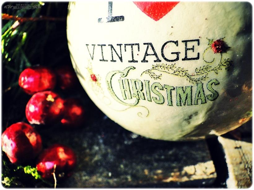 Bombka w pudełku I love Vintage Christmas 3