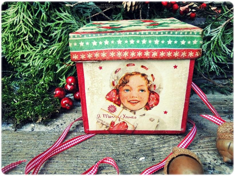 Bombka w pudełku I love Vintage Christmas 5