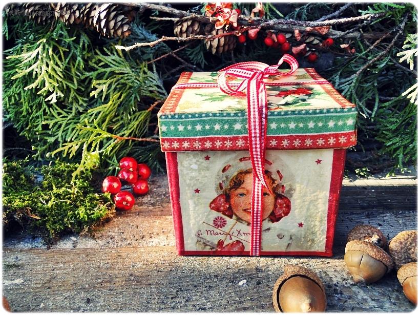 Bombka w pudełku I love Vintage Christmas 6