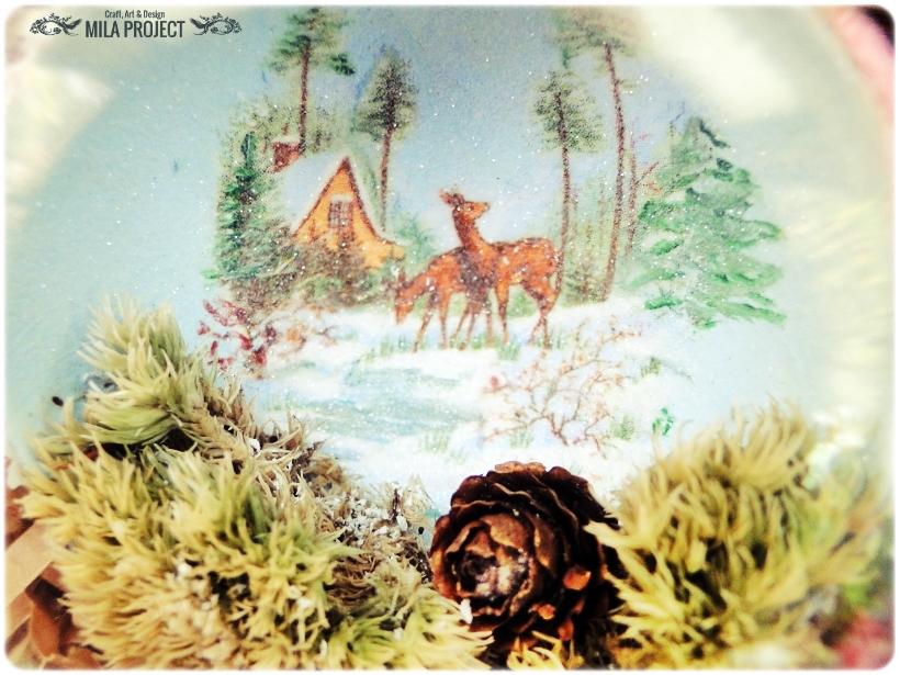 Bombki w drewnianym pudełku My Christmas 10