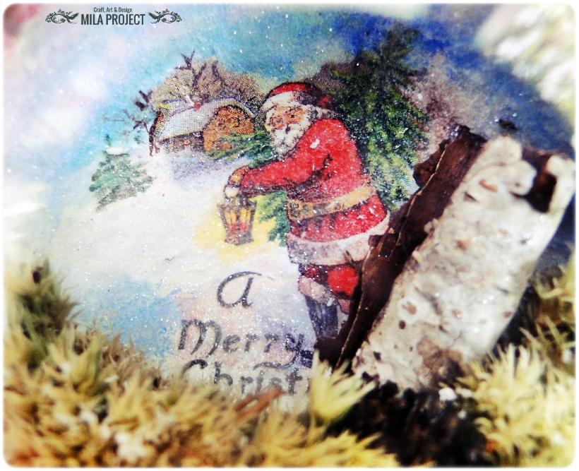 Bombki w drewnianym pudełku My Christmas 11