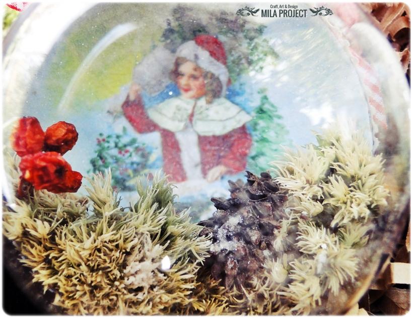 Bombki w drewnianym pudełku My Christmas 12