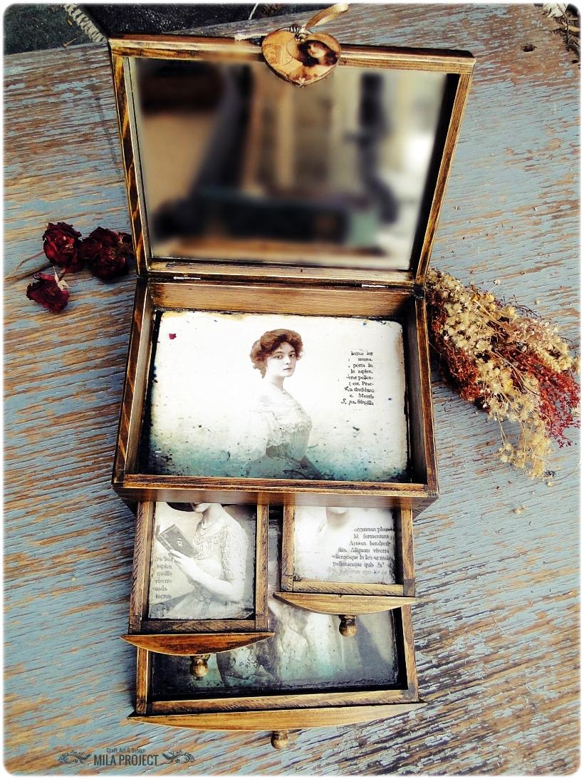 Kasetka na biżuterię Belle Epoque 8