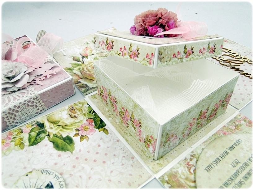 Exploding Box Pierwsza Komunia Święta - Flowers 10