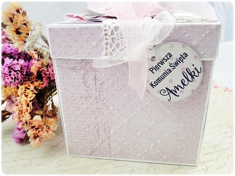 Exploding Box Pierwsza Komunia Święta - Flowers 2
