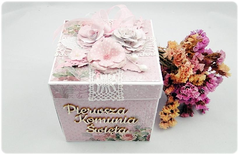 Exploding Box Pierwsza Komunia Święta - Flowers 3