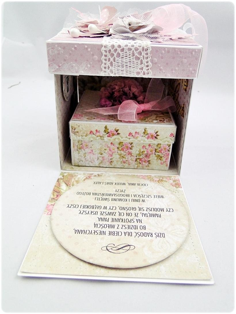 Exploding Box Pierwsza Komunia Święta - Flowers 5