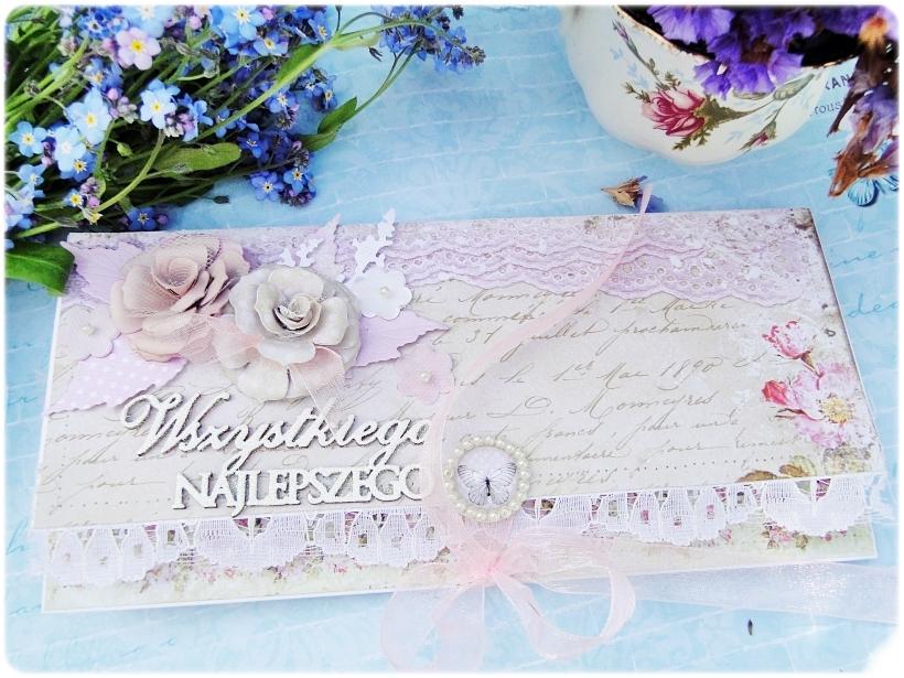Kartka ślubna - koperta Romantic Letter 1