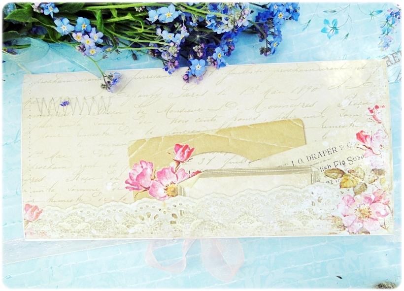 Kartka ślubna - koperta Romantic Letter 4