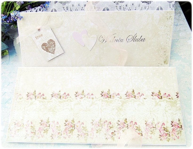 Kartka ślubna - koperta Romantic Letter 7