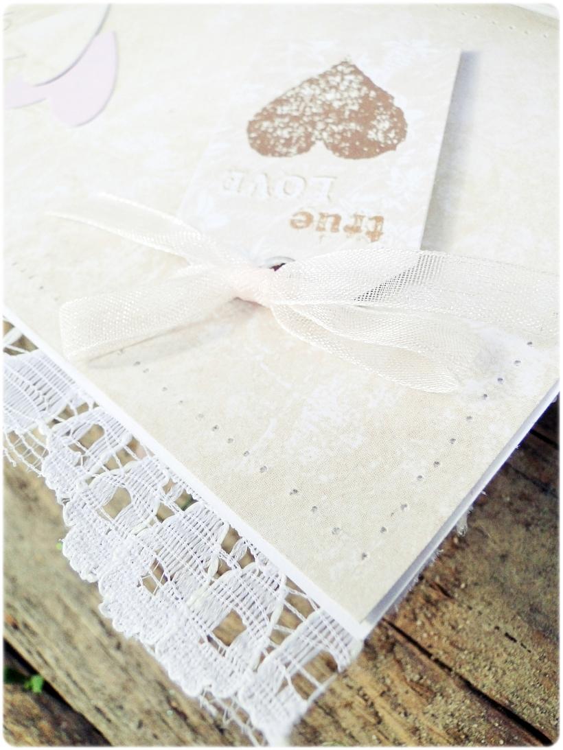 Kartka ślubna - koperta Romantic Letter 8