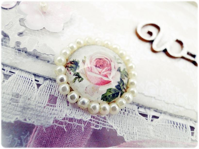 Kartka ślubna - koperta Shabby Wedding 2