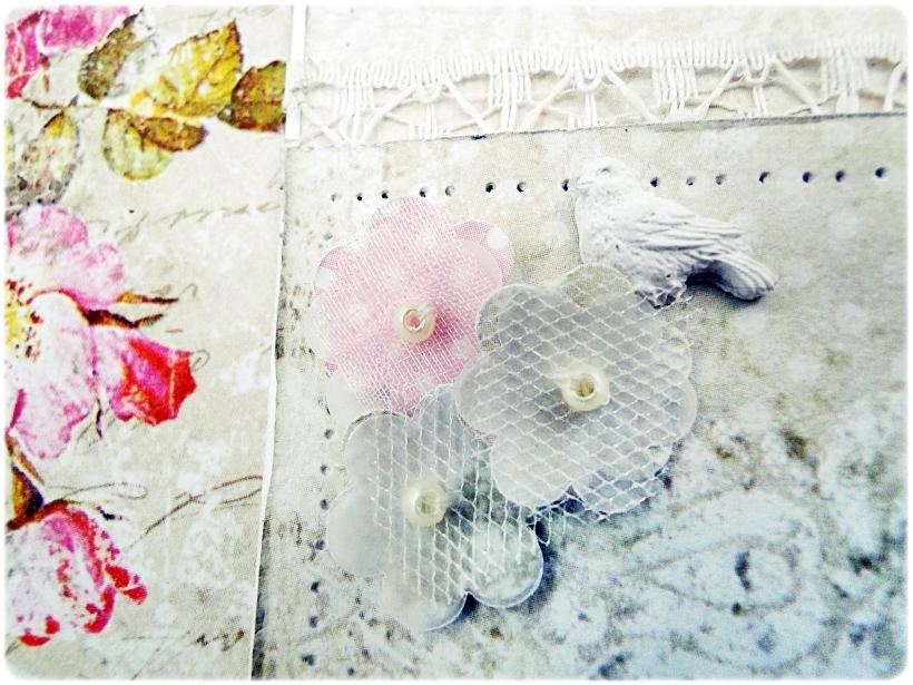 Kartka ślubna - koperta Shabby Wedding 7