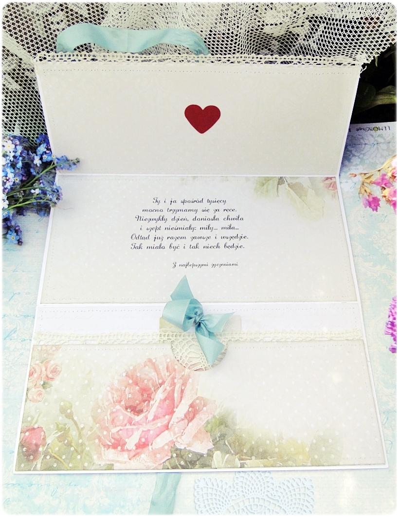 Kartka ślubna - koperta To jest Miłość 3