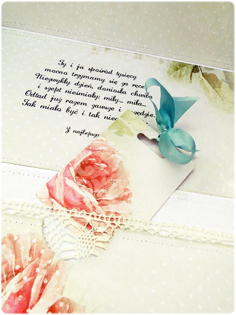 Kartka ślubna - koperta To jest Miłość 4