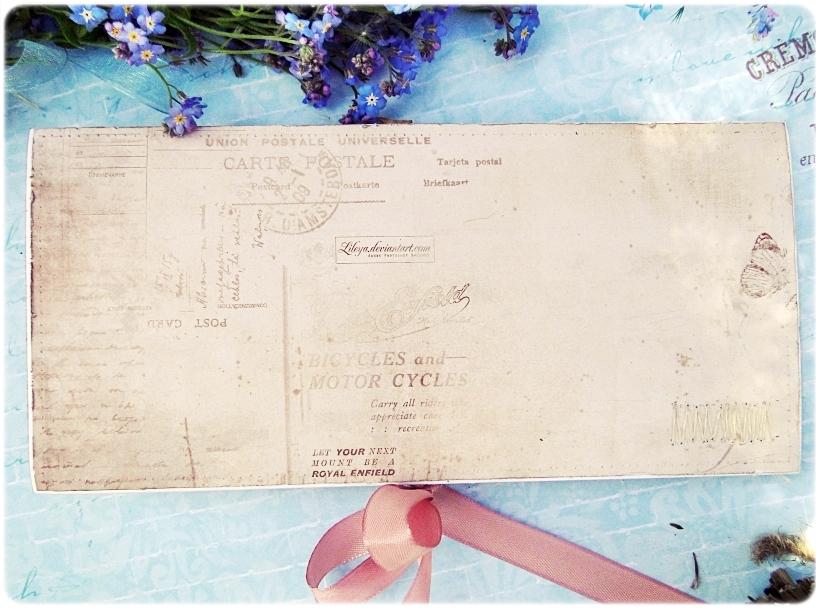 Kartka ślubna - koperta Vintage Greetings 2