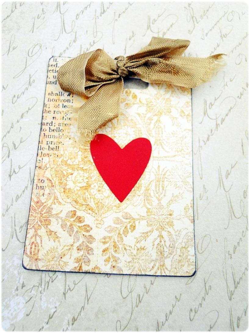 Kartka ślubna - koperta Vintage Love 9
