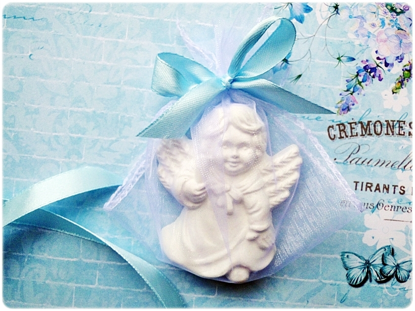 Podziekowania - Gipsowe aniołki i serduszka 2