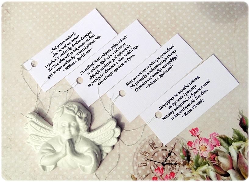 Podziekowania - Gipsowe aniołki i serduszka 9