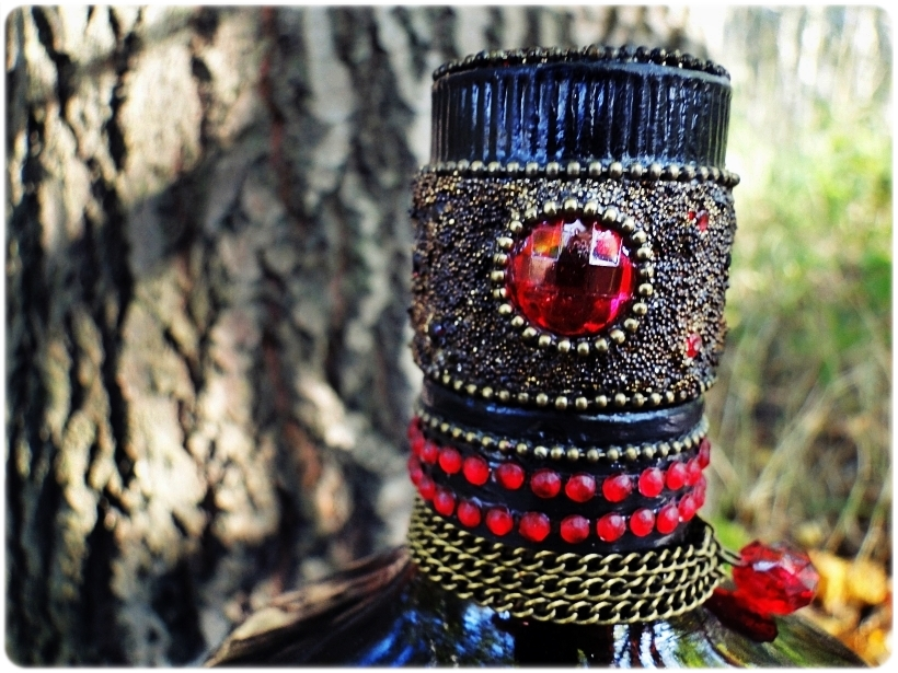 Butelka biżuteryjna Wiewiórka 6