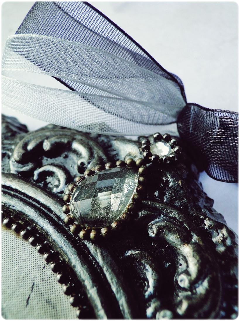 Gipsowa ramka z obrazkiem Baletnica 3