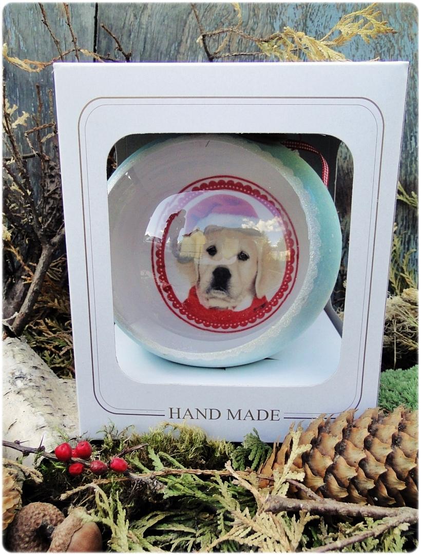 Szklana bombka z okienkiem Mój Przyjaciel Pies 6