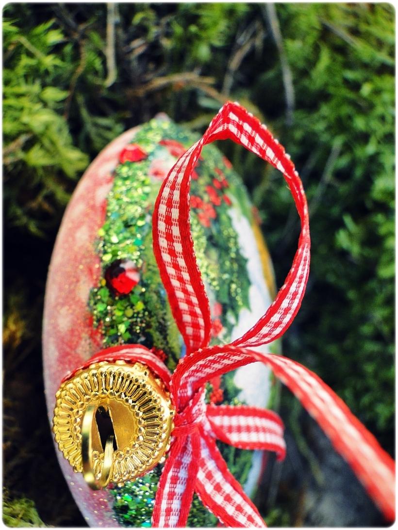 Bombka medalion Mikołaj i chłopczyk 6