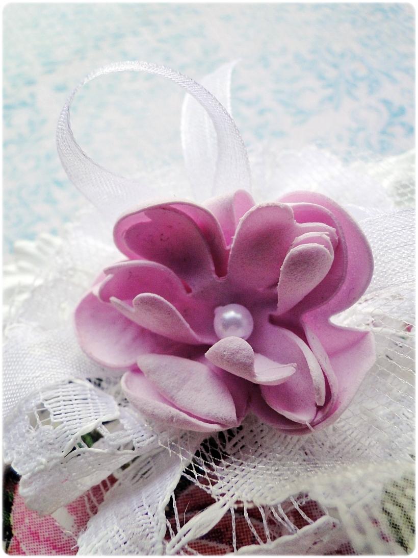 Gipsowa ramka z obrazkiem Flowers&Butterflies 2