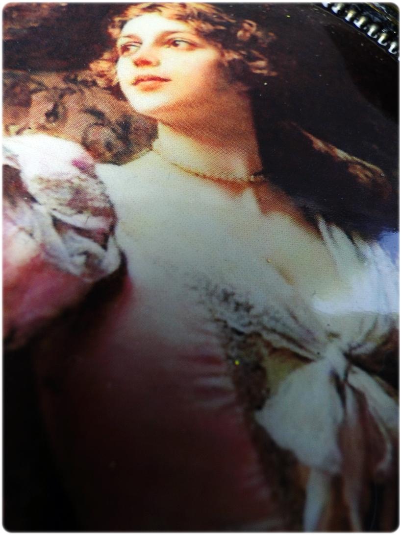 Gipsowa ramka z obrazkiem Gold Duchess 5